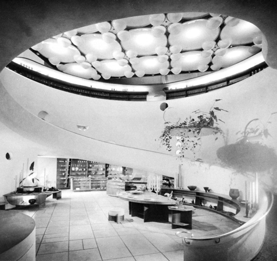 The gift shop CVMorris // Frank Lloyd Wright // San francisco /EEUU // 1949